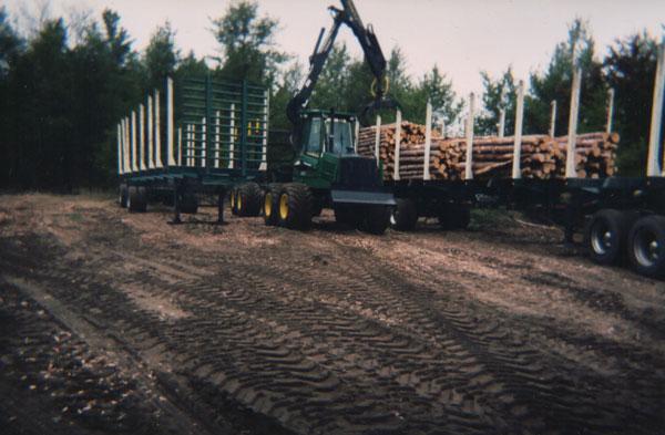 Olson Logging Trucks and Equipment