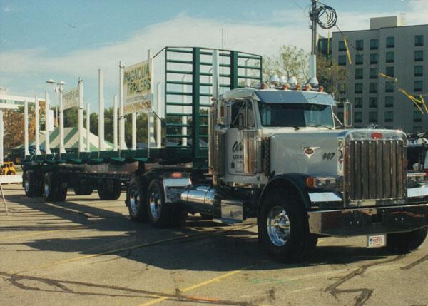 Olson Logging Truck Peterbuilt