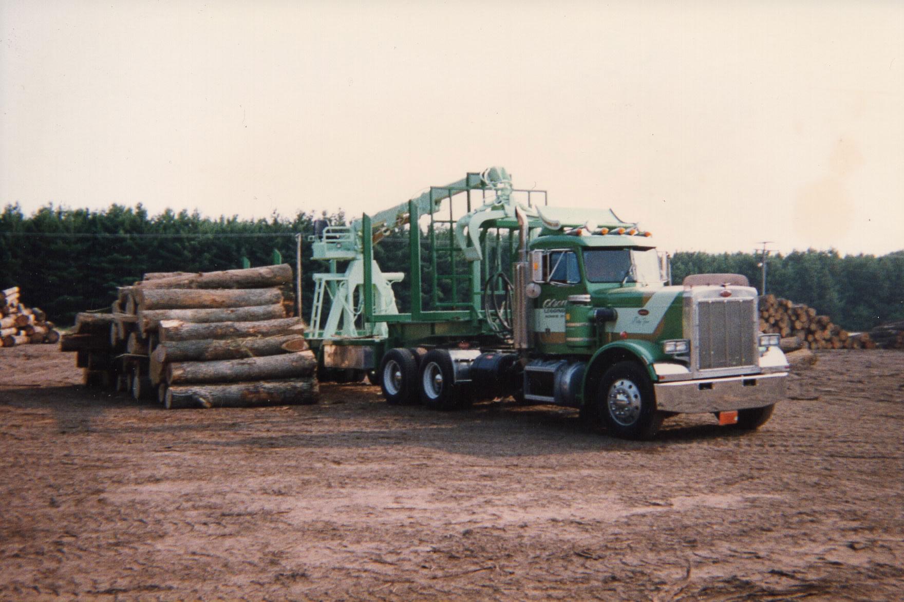 Hardwood Logs Olson Logging Equipment